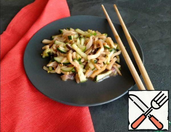 Chinese Salad with Mushrooms Recipe