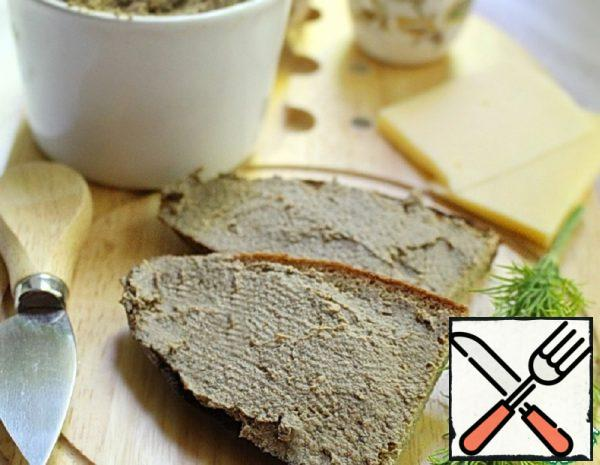 Chicken Liver Pate with Mushrooms Recipe