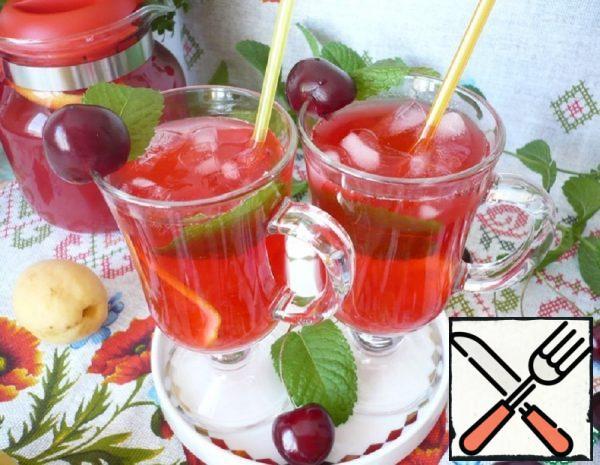 "Summer Soft Drink ""Cherry Lemonade"" Recipe"
