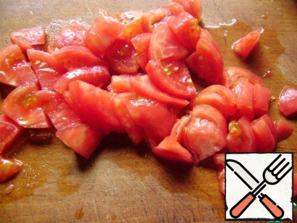 Peel and cut into slices.