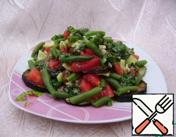 Salad with Zucchini and Beans Recipe