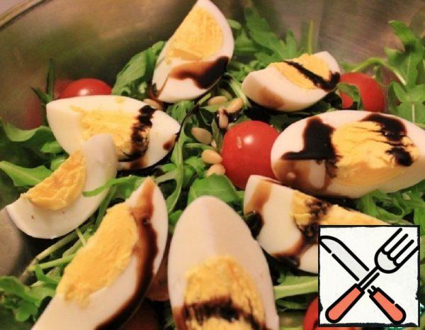 Salad with Tuna and Greens Recipe