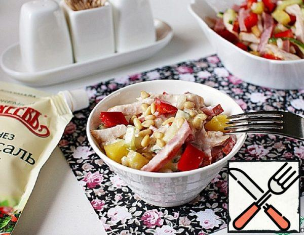 Beef Salad with Pineapple Recipe