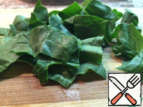 spinach .. grind..