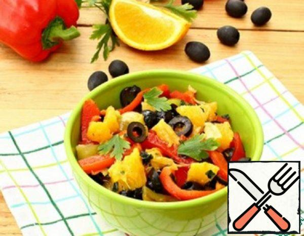 Appetizer of roasted Peppers Recipe