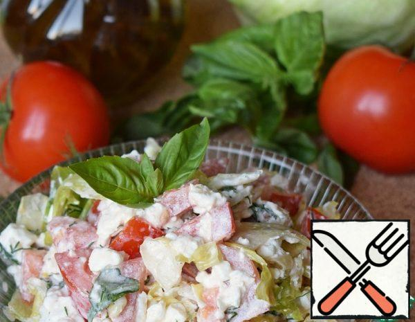 Salad with Cottage Cheese Recipe