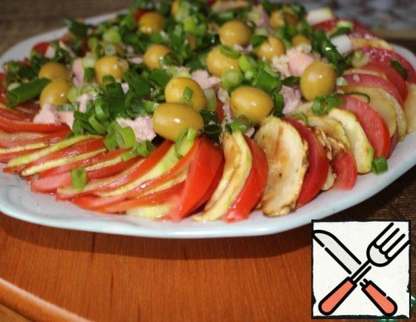 Zucchini Salad with Tuna Recipe