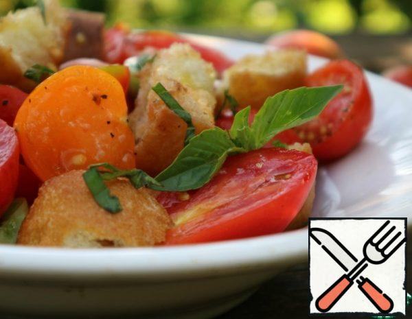 Tuscan Tomato and Bread Salad Recipe
