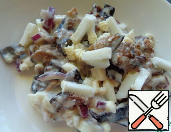 Eggplant and Egg Salad Recipe