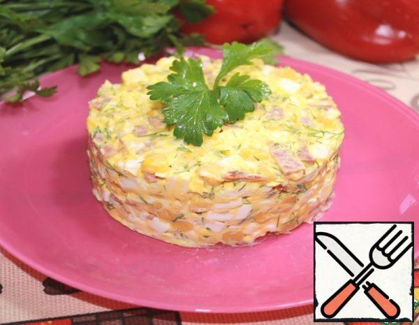 Salad with Sausage Recipe