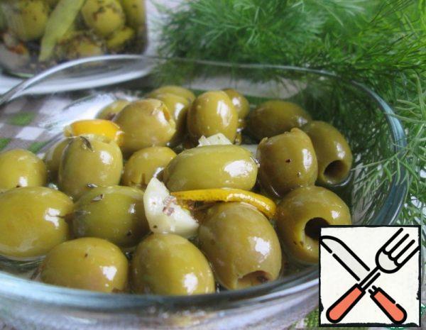 Pickled Olives Recipe