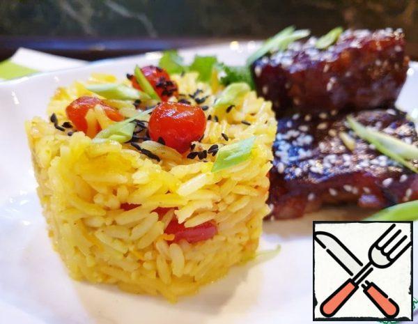 Aromatic Orange Rice Recipe