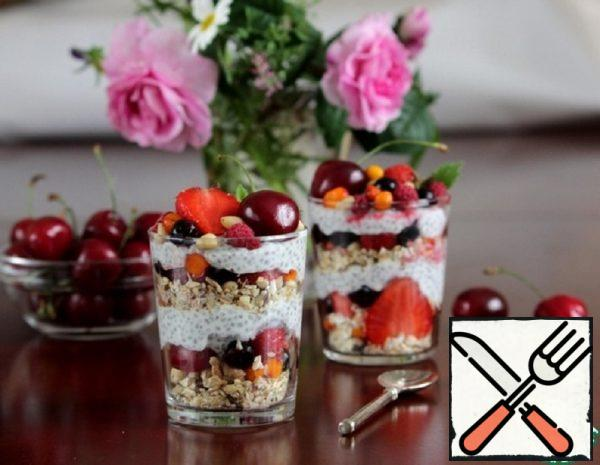 Chia Pudding with Berries Recipe