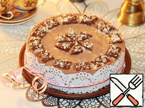 Chocolate and Coffee Souffle Cake Recipe