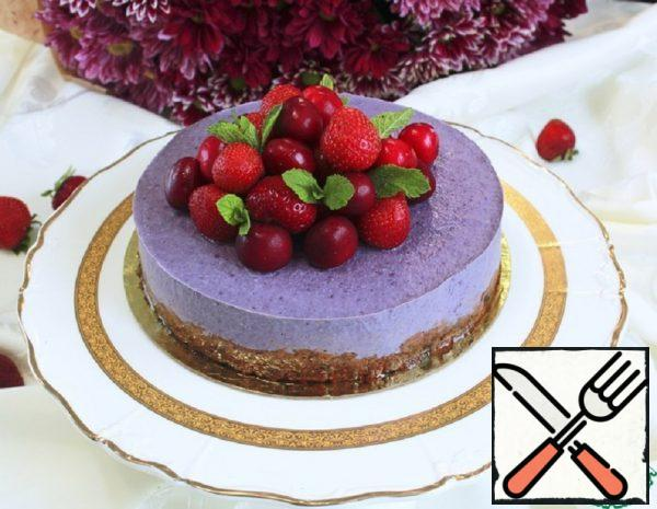 "Cheesecake Frozen ""Blueberry"" Recipe"