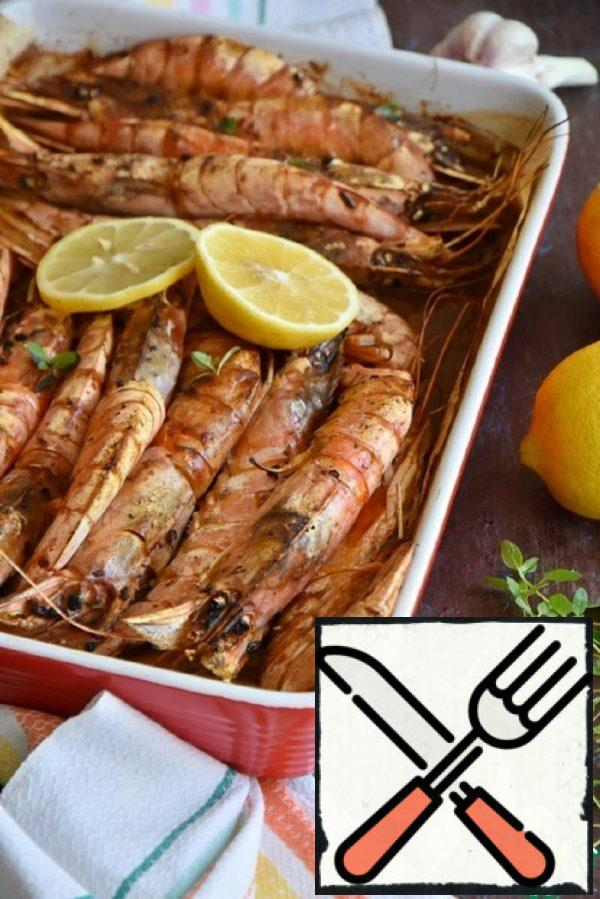 Langoustines Baked in the Oven Recipe