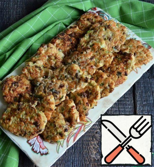 Chicken-Liver Pancakes with Millet Porridge Recipe