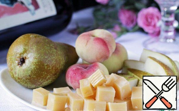 Pickled Cheese with Brandy and Honey Recipe