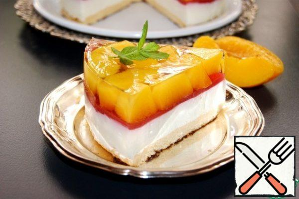 Cut a slice and enjoy! Enjoy.