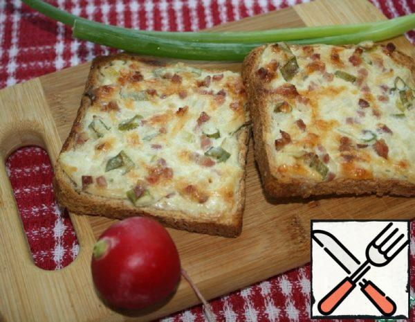 "The Toast of ""Flammkuchen"" Recipe"