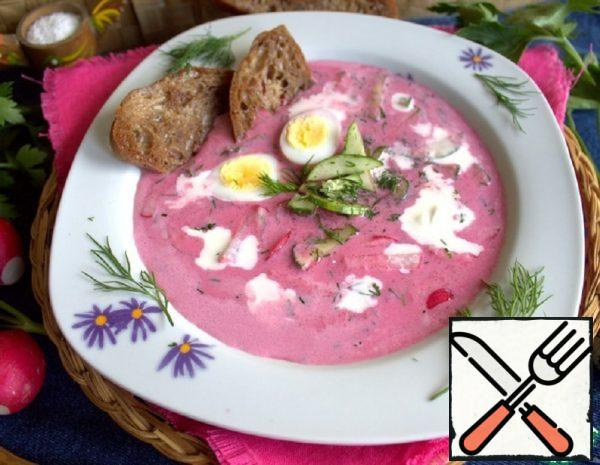 Cold Soup with Pickled Beets Recipe