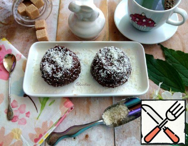 Chocolate Dessert made from Millet Milk Porridge Recipe