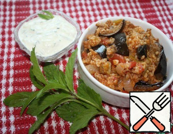 Bulgur with Minced Meat and Vegetables Recipe