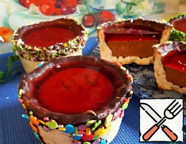 Baskets with Marshmallows and Jelly Recipe