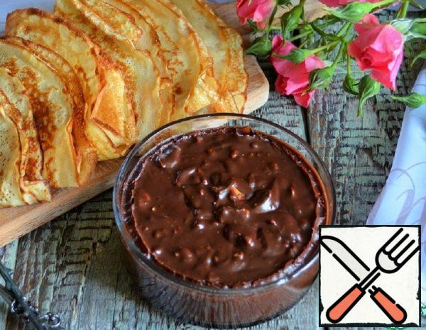 Chocolate Paste with Peanuts Recipe