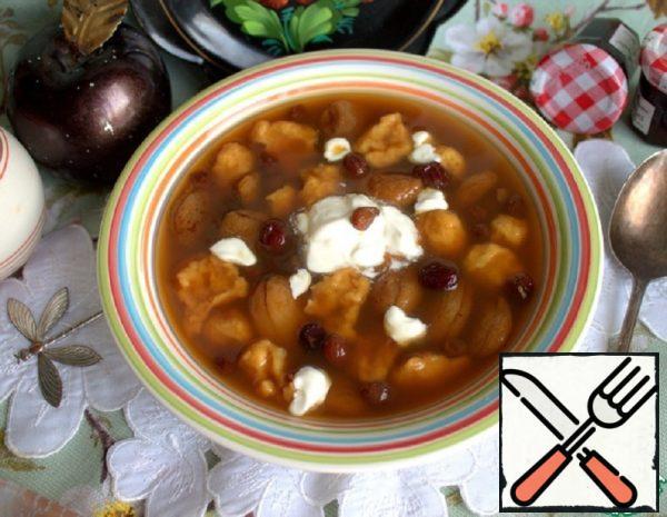 Sweet Soup with Dumplings Recipe
