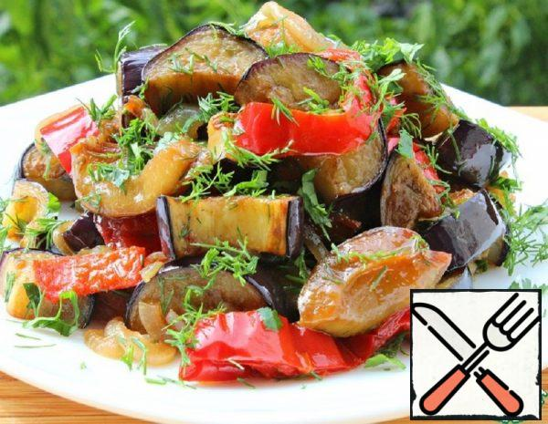 Salad with Eggplant Recipe