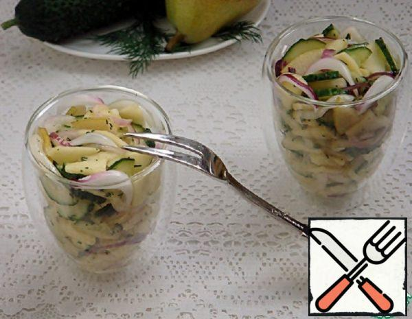 Spicy Salad with Apples and Pears Recipe