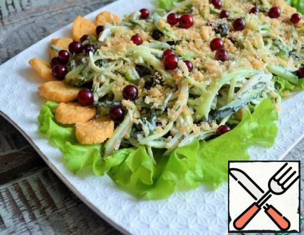 Salad with Squid and Red Currant Recipe