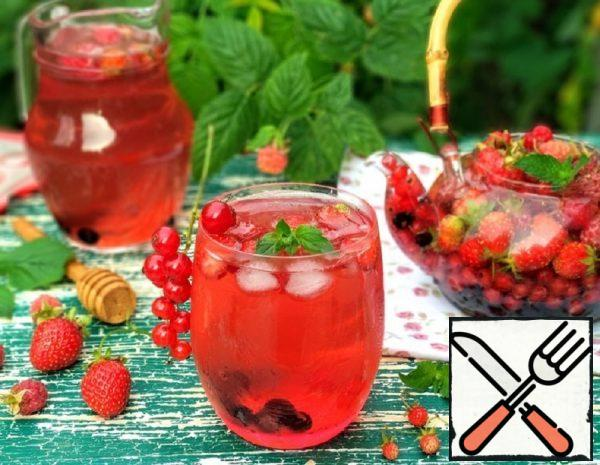 "Cold Tea ""Berry mix"" Recipe"