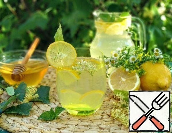 Lime Lemonade with Mint Recipe