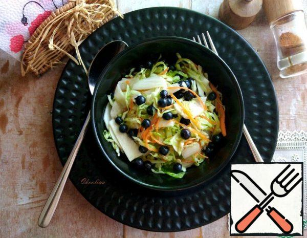 Salad with Turnip and Cabbage Recipe