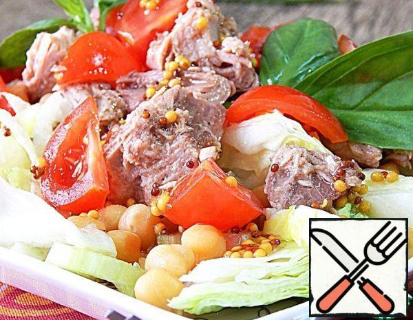 Chickpea and Tuna Salad Recipe