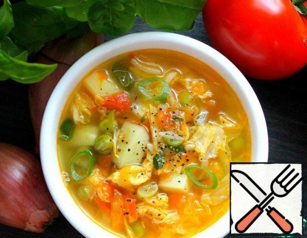 Soup with Peas Recipe