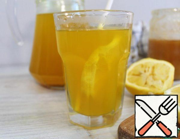 Ginger Tea with Lemon and Honey Recipe