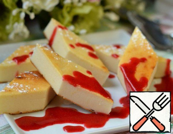 Cheesecake with Chocolate Recipe