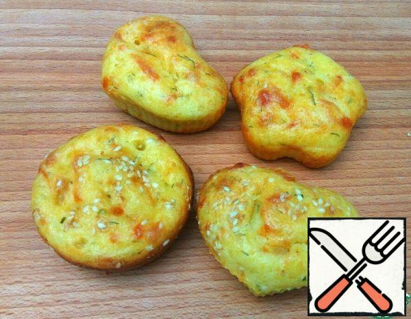 Curd Muffins with Cheese Recipe
