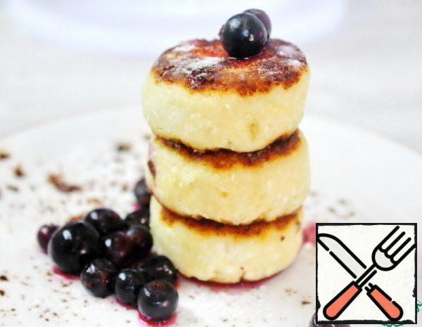Cottage Cheese Pancakes with Chocolate Filling Recipe