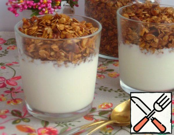 Nut Granola with Seeds Recipe