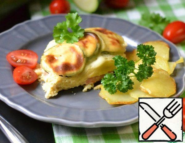 Chicken Casserole with Zucchini Recipe