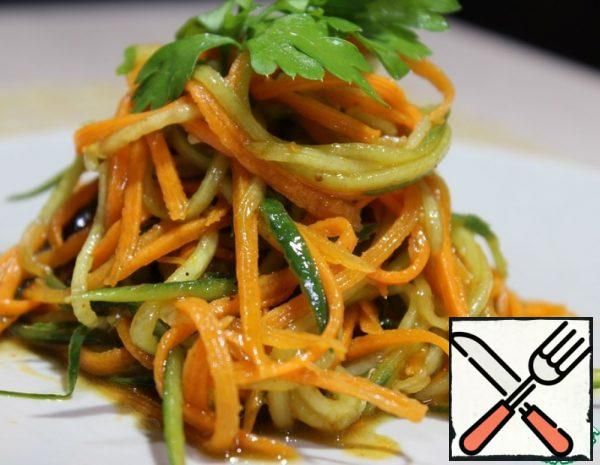 Vegetable Salad with Spicy Dressing Recipe