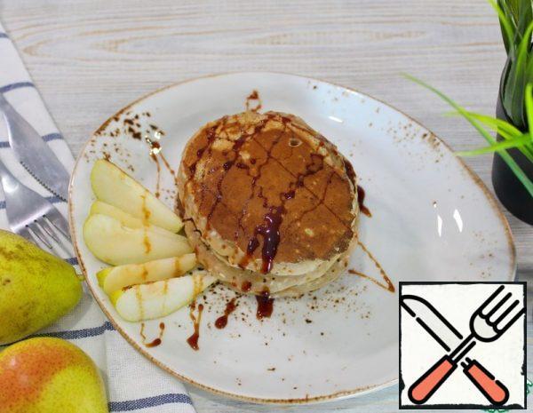 Pear Pancakes Recipe