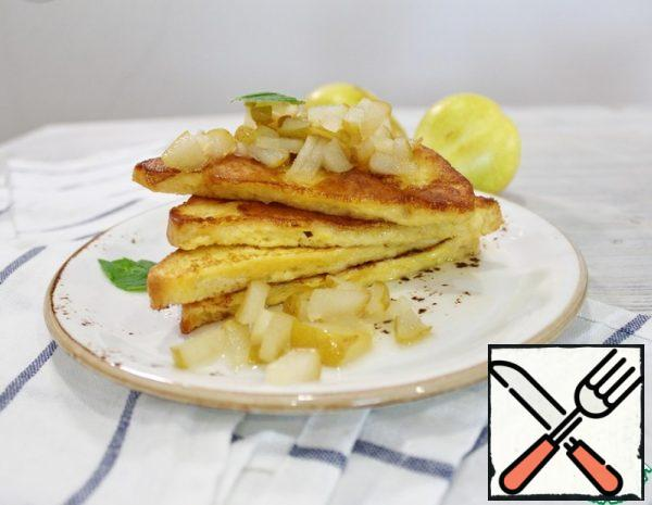 French Toast with Pear Recipe