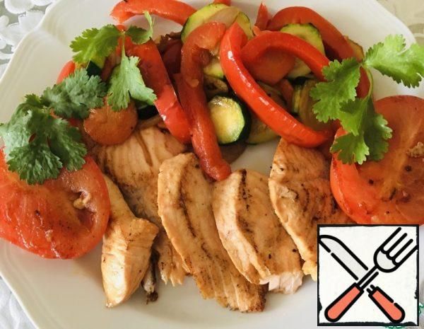 Fish Fillet with Vegetables Recipe