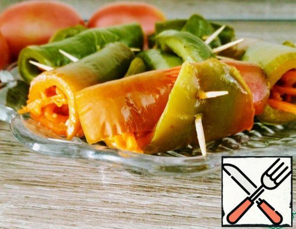 Quick Snack of pickled Peppers Recipe