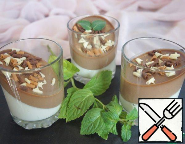 Creamy Chocolate Panna Cotta Recipe